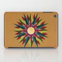 Half Circle Stars iPad Case