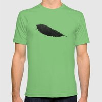 Feather Cave Mens Fitted Tee Grass SMALL