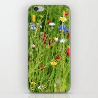 Colourful Garden - JUSTA… iPhone & iPod Skin