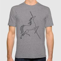 Unicorn Mens Fitted Tee Athletic Grey SMALL