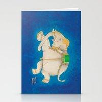 Happy Dreamtime Elephant Stationery Cards