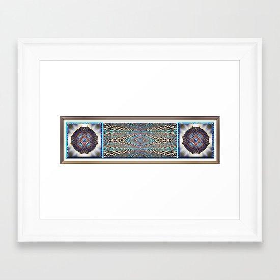 Garden of Illusion Framed Art Print