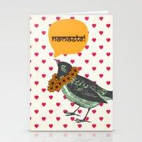 Namaste! Stationery Cards