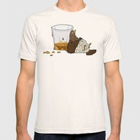 Thirsty Grouse - Colored… Mens Fitted Tee Natural SMALL