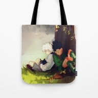 Gon And Killua Tote Bag