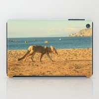 Fox on the beach iPad Case