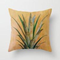Boho Pineapple Throw Pillow