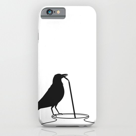Thirsty crow iPhone & iPod Case