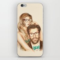 I Love Your Glasses iPhone & iPod Skin