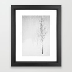 Vanilla Framed Art Print