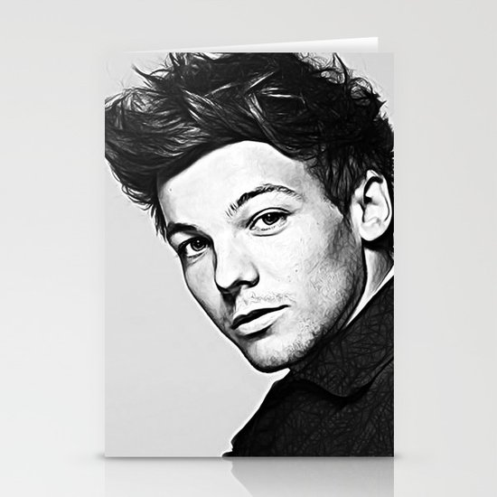 Louis Tomlinson Stationery Card
