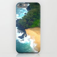 iPhone & iPod Case featuring Drop Me Into Paradise by Right As Rain