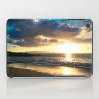 Po'olenalena Beach Sunset Makena Maui Hawaii iPad Case