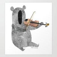 Mr. Stubbs  Art Print