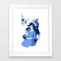 Lulu League Of Legends Framed Art Print