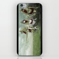 3 Lurkers  iPhone & iPod Skin
