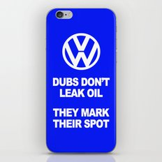 VW Mark the Spot iPhone & iPod Skin