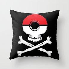 Pirates of Poke.. Throw Pillow