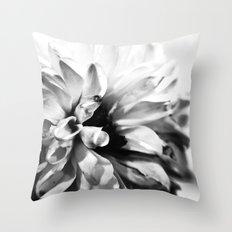 Dahlias 3 Throw Pillow