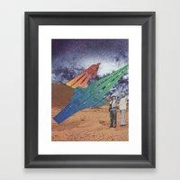 Space Dirt Framed Art Print