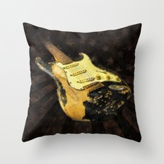 My AMERICAN RELIC STRATOCASTER® Custom Shop Throw Pillow
