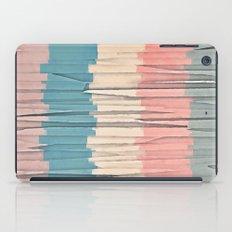 Colorful Grunge Stripes iPad Case