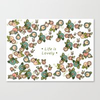 Life Is Lovely Canvas Print
