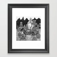 The Gardner Framed Art Print