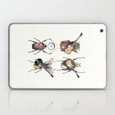 Meet the Beetles (white option) Laptop & iPad Skin