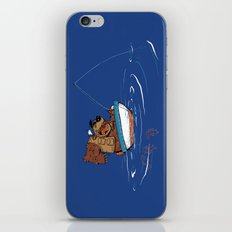 Bear Fishing iPhone & iPod Skin