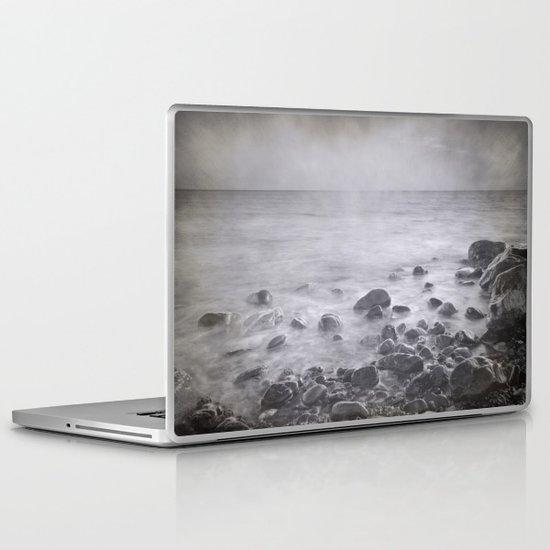 """Black sea rocks"" Laptop & iPad Skin"