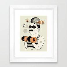 Hipotalamus Disturb Framed Art Print