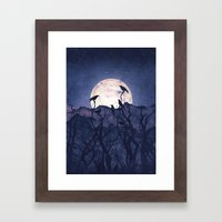 Midnight Chorus Framed Art Print