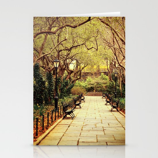Central Park Stationery Card