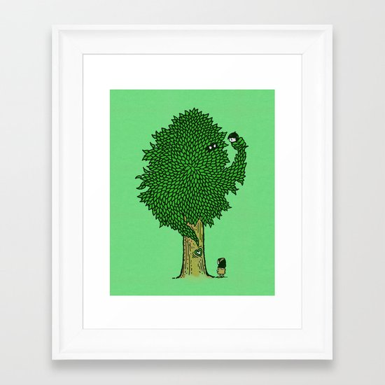 What the Bark is THAT!? Framed Art Print