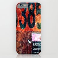 Rusty Numbers iPhone 6 Slim Case