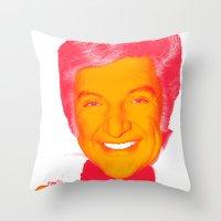 Liberace Throw Pillow