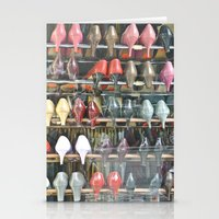 shoes Stationery Cards featuring Shoes by Berlin Kunst