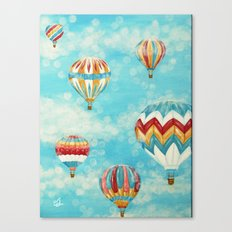 Hot Air Balloons 1 Canvas Print