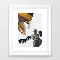 Only You Can Prevent The Spread Of BS! Framed Art Print