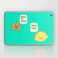 Motivational Beach! Laptop & iPad Skin