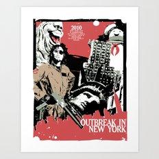 Outbreak in New York Art Print