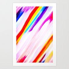 Rainbow for cover Art Print