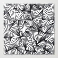 TriangleAngle Canvas Print
