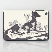 Le Loup Et Les Sept Chev… iPad Case