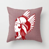 Angel Of Mercy, Traditio… Throw Pillow