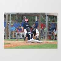 Little League 2012 State… Canvas Print