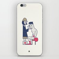 Heart Of The Tiger iPhone & iPod Skin