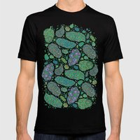 Nugs In Color Mens Fitted Tee Black SMALL