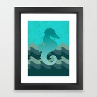 Seahorse Dream Framed Art Print